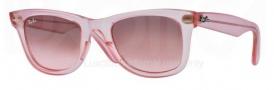 Ray Ban 2140 Sunglasses Original Wayfarer RB2140 Sunglasses - 6057X3 Demi Gloss Pink