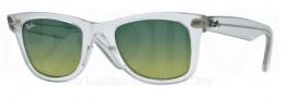 Ray Ban 2140 Sunglasses Original Wayfarer RB2140 Sunglasses - 60583M Demi Gloss Green / Green Gradient Green