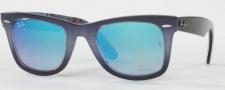 Ray Ban 2140 Sunglasses Original Wayfarer RB2140 Sunglasses - 119840 Top Gradient Grey on Blue