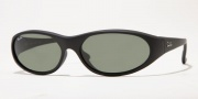 Ray-Ban 2015 (Daddy-O Oval Wrap) Sunglasses Sunglasses - (W2581)Matte Black w/ G-15XLT