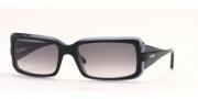 Vogue 2443 Sunglasses - Gray-faded/Black-light-blue (11438G)