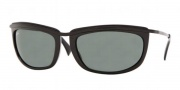 Ray-Ban RB4109 Sunglasses Olympian I  Sunglasses - (601) Shiny Black/Crystal Green