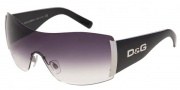 D&G DD 8039 Sunglasses - (501/8G) Black/Gray Gradient