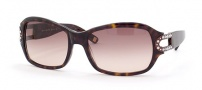 Saks Fifth Ave 37/S Sunglasses - 0086 (RJ) DARK TORTOISE (BROWN GRADIENT)