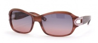 Saks Fifth Ave 37/S Sunglasses -  0SN6 (RP) PLUM HORN (PLUM GRADIENT)