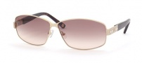 Saks Fifth Ave 38/S Sunglasses - 01F4 (RJ) GOLD (BROWN GRADIENT)