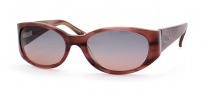 Saks Fifth Ave 43/S Sunglasses - 0SN6 (RP) PLUM HORN (PLUM GRADIENT)