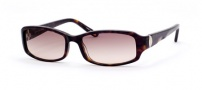 Saks Fifth Ave 45/S Sunglasses - 0086 (RJ) DARK HAVANA (BROWN GRADIENT)