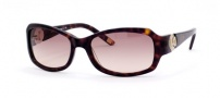 Saks Fifth Ave 47/S Sunglasses - 0086 (RJ) DARK HAVANA (BROWN GRADIENT)