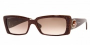 Salvatore Ferragamo/ FE 2134B Sunglasses - (575-13) Brown Piton/Brown Gradient