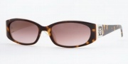 Anne Klein AK 3129 Sunglasses - (238-29) Tortoise White/Brown Gradient