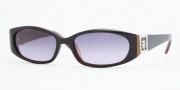 Anne Klein AK 3129 Sunglasses - (241-28) Black/Brown/Gray Gradient