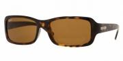 Ray-Ban RB4107 Sunglasses Sunglasses - (710) Light Havana/Crystal Brown