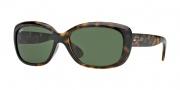Ray-Ban RB4101 Sunglasses Jackie Ohh Sunglasses - 710 Light Havana / Crystal Green