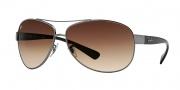 Ray-Ban RB3386 Sunglasses Sunglasses - (004-13) Gunmetal/Brown Gradient