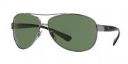 Ray-Ban RB3386 Sunglasses Sunglasses - (004-71) Gunmetal/Green