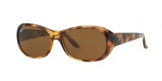 Ray-Ban 4061 Sunglasses Sunglasses - (642-57) Havana/Crystal Brown Polarized