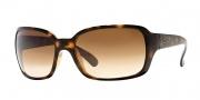 Ray-Ban RB4068 Sunglasses Sunglasses - 710/51 Light Havana / Crystal Brown Gradient
