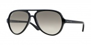 Ray Ban 4125 Sunglasses CATS 5000  Sunglasses - 601/32 Black/Crystal Gray Gradient