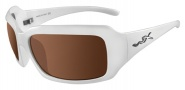 Wiley X Lacey Sunglasses - (SSLAC06)Bronze Brown/Pearl White