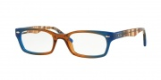 Ray-Ban RX 5150 Eyeglasses Eyeglasses - 5488 Gradient Brown on Blue