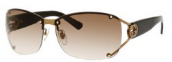 Gucci 2820/F/S Sunglasses Sunglasses - 0VTC Shiny Brown (5E brown gradient lens)
