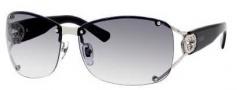 Gucci 2820/F/S Sunglasses Sunglasses - 0010 Shiny Palladium Lium (ZR gray gradient lens)