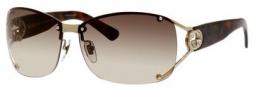 Gucci 2820/F/S Sunglasses Sunglasses - 00UJ Light Gold (CC brown gradient lens)