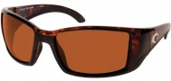 Costa Del Mar Blackfin Sunglasses Tortoise Frame Sunglasses - Copper / 580P
