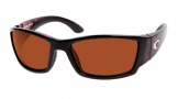 Costa Del Mar Corbina Shiny Tortoise Frame Sunglasses - Copper / 580P