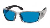 Costa Del Mar Corbina Sunglasses Silver Frame Sunglasses - Green Mirror / 400G