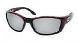Costa Del Mar Fisch Sunglasses Shiny Tortoise Frame Sunglasses - Blue Mirror / 580G