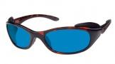 Costa Del Mar Frigate Sunglasses Shiny Tortoise Frame Sunglasses - Amber / 400G
