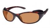Costa Del Mar Frigate Sunglasses Shiny Tortoise Frame Sunglasses - Amber / 580P