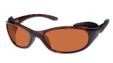 Costa Del Mar Frigate Sunglasses Shiny Tortoise Frame Sunglasses - Copper / 580P