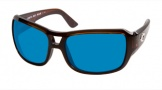 Costa Del Mar Gallo - Shiny Tortoise Frame Sunglasses - Blue Mirror Glass/COSTA 580