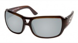 Costa Del Mar Gallo - Shiny Tortoise Frame Sunglasses - Silver Mirror Glass/COSTA 580