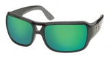 Costa Del Mar Gallo - Shiny Black Frame Sunglasses - Green Mirror Glass/COSTA 580