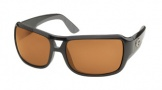Costa Del Mar Gallo - Shiny Black Frame Sunglasses - Amber Glass/COSTA 400