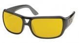 Costa Del Mar Gallo - Shiny Black Frame Sunglasses - Sunrise Glass/COSTA 400