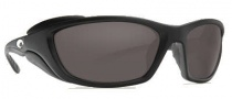 Costa Del Mar Man o War Sunglasses - Black Frame Sunglasses - Gray / 580P