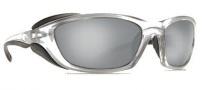 Costa Del Mar Man o War Sunglasses - Silver Frame Sunglasses - Silver Mirror / 580G