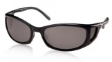 Costa Del Mar Pescador - Matte Black Frame Sunglasses - Gray Glass/COSTA 580