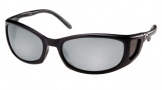 Costa Del Mar Pescador - Matte Black Frame Sunglasses - Silver Mirror Glass/COSTA 580