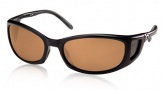 Costa Del Mar Pescador - Matte Black Frame Sunglasses - Amber CR 39/COSTA 400