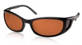 Costa Del Mar Pescador - Matte Black Frame Sunglasses - Vermillion CR 39/COSTA 400