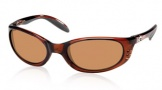 Costa Del Mar Stringer Sunglasses Shiny Tortoise Frame Sunglasses - Amber / 580P