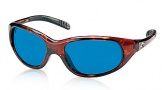 Costa Del Mar Wave Killer Sunglasses Shiny Tortoise Frame Sunglasses - Blue Mirror Glass/COSTA 400