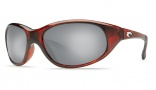 Costa Del Mar Wave Killer Sunglasses Shiny Tortoise Frame Sunglasses - Copper Glass/COSTA 580