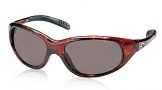 Costa Del Mar Wave Killer Sunglasses Shiny Tortoise Frame Sunglasses - Gray CR 39/COSTA 400